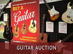 Bid on autographed guitars