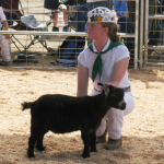 Kelsey-Gilmore-with-Merlot-the-Pygmy-Goat