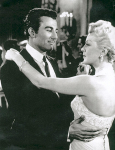 "Tom Hernandez and Lana Turner in ""Latin Lovers."""