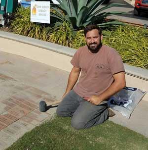 Installing new bricks